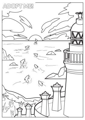 ChannonryPointLighthouseColoring!